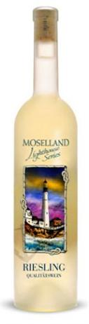 Moselland Ars Vitis Riesling Lighthouse Scene